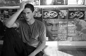 Wentworth Miller trains for his upcoming role in Miramax's 'The Human Stain' starring Anthony Hopkin