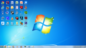 Windows 7 Laptop Screenshot 1