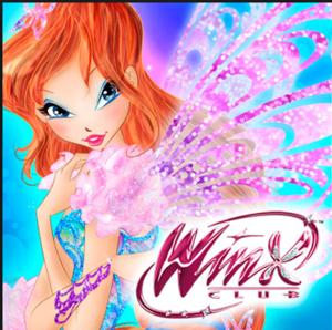 Winx Club Bloom's Butterflyix Logo