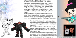 Wreck-It Ralph 2 Storyboard of Ideas 21