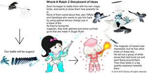 Wreck-It Ralph 2 Storyboard of Ideas 22