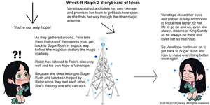 Wreck-It Ralph 2 Storyboard of Ideas 27
