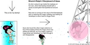 Wreck-It Ralph 2 Storyboard of Ideas 28