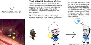 Wreck-It Ralph 2 Storyboard of Ideas 32