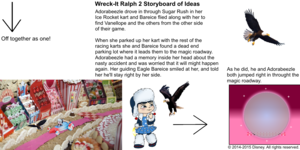 Wreck-It Ralph 2 Storyboard of Ideas 33