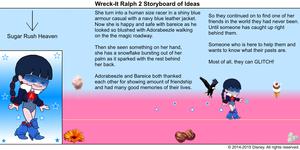 Wreck-It Ralph 2 Storyboard of Ideas 35