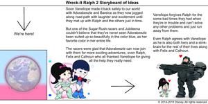 Wreck-It Ralph 2 Storyboard of Ideas 37