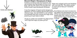 Wreck-It Ralph 2 Storyboard of Ideas 38