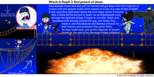 Wreck-It Ralph 2 Storyboard of Ideas 40