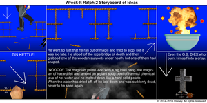Wreck-It Ralph 2 Storyboard of Ideas 41