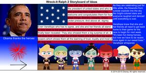 Wreck-It Ralph 2 Storyboard of Ideas 42