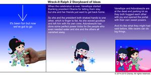 Wreck-It Ralph 2 Storyboard of Ideas 43