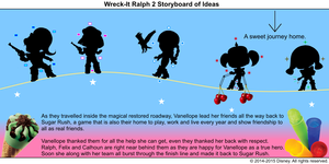 Wreck-It Ralph 2 Storyboard of Ideas 44
