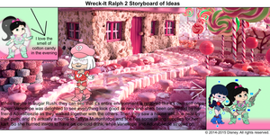 Wreck-It Ralph 2 Storyboard of Ideas 45