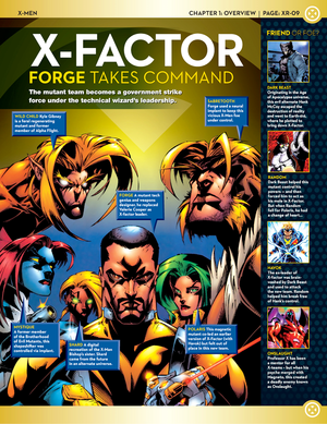X-men Team Line-Up: X-Factor (Forge Takes Command)
