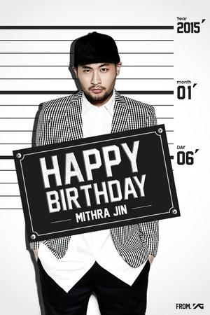 YG Entertainment says happy birthday to Mithra Jin
