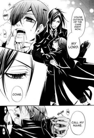 야오이 Black Butler Comic <3