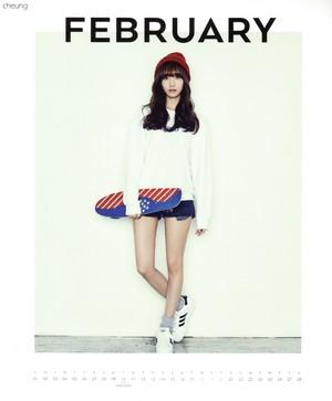 Yoona (SNSD) - 2015 Calendar