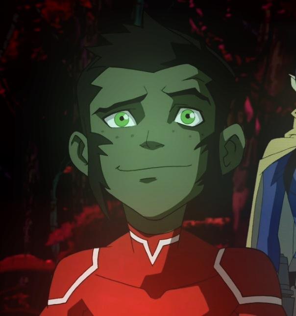 AleniaDark Young Justice Beast BoyYoung Justice Beast Boy Transformations