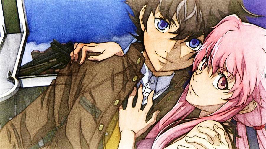 Yuno and Yukiteru - Yuno Gasai and Yuki Amano Fan Art ...