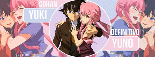 Yuno Gasai and Yuki Amano images Yuno and Yukiteru ...