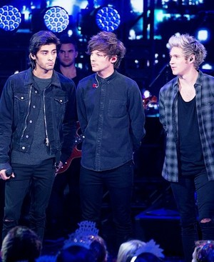 Zayn, Louis and Niall