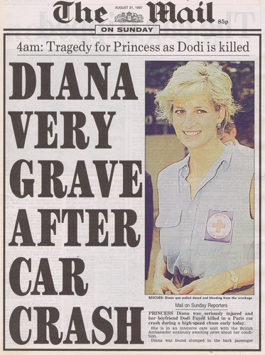 Принцесса Диана Обои possibly containing Аниме entitled diana death news