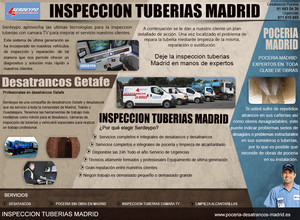 inspeccion tuberias madrid