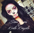 karla krayola day of the dead make up