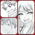 love مثلث nalu and graylu