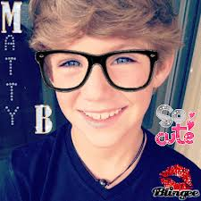 Matty B Raps achtergrond probably with a portrait titled mattybjing
