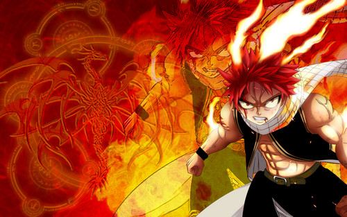 Fairy Tail wallpaper possibly with Anime called natsu dragneel