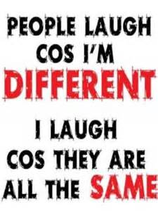 perfect to describe you're different