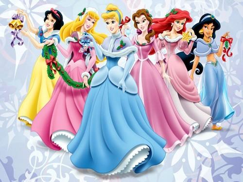 Princess disney navidad fondo de pantalla possibly with a corsage in