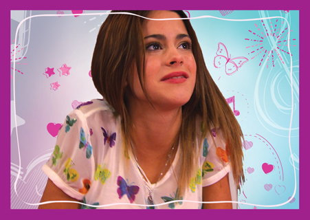 Violetta wallpaper possibly containing a portrait called tini :3:3:3