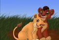 young love  - the-lion-king-2-simbas-pride fan art