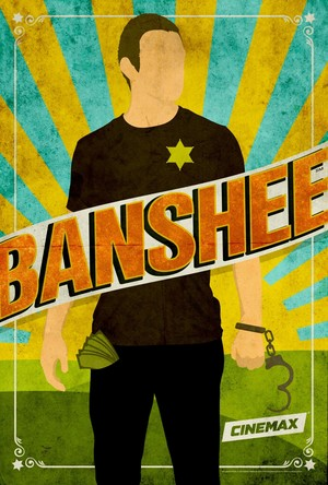 'Banshee' Season 2 Comic-Con Poster ~ Lucas capuz, capa