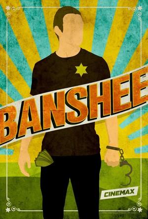 'Banshee' Season 2 Comic-Con Poster ~ Lucas capuche, hotte