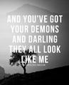 Demons - quotes photo