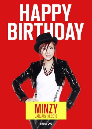 ♥ Happy Birthday Minzy ♥