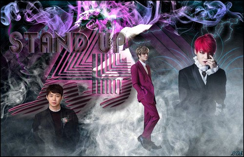 JYJ wallpaper probably containing a well dressed person, a business suit, and a sign titled             JYJ
