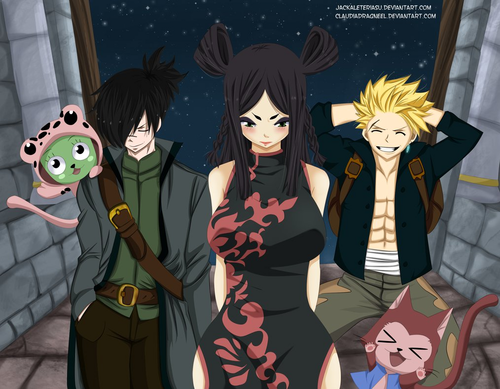 Fairy Tail Обои probably with Аниме entitled *Minerva Back Home*