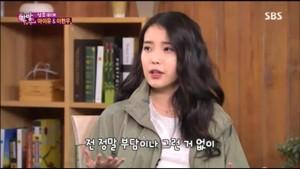 "[SCREENCAPS] 150128 IU on SBS TV's ""One Night Of TV Entertainment"" door kpoppa"