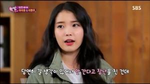 "[SCREENCAPS] 150128 IU on SBS TV's ""One Night Of TV Entertainment"" by kpoppa"