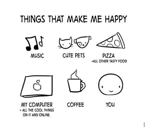 things that make me happy quotes