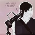 U R such a Daryling! - the-walking-dead fan art