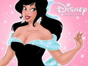 A beautiful डिज़ाइन for a डिज़्नी Princess