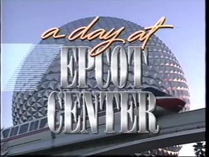 A hari at EPCOT Center video