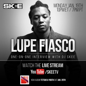 A one-on-one interview with Lupe Fiasco!