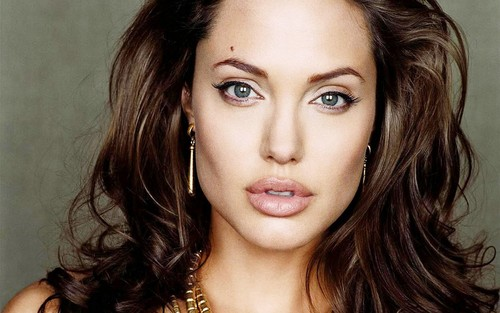 angelina jolie wallpaper with a portrait called ANGELINA JOLIE